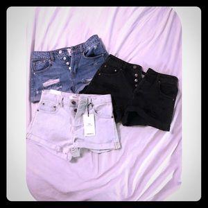High Waisted Shorts bundle!!